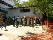 Distribution of Shelter Kits in Feb 2010