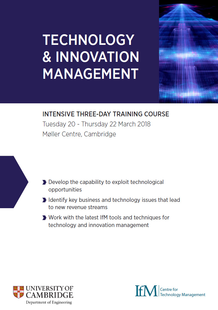 Technology Management Image: Technology And Innovation Management Course