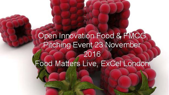 Open Innovation Forum Food & FMCG Pitching Event