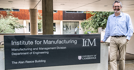 Duncan McFarlane, Professor of Industrial Information Engineering at the IfM, led the team.
