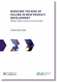 Reducing the risk of failure in new product development