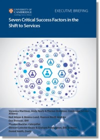 Shift to services report