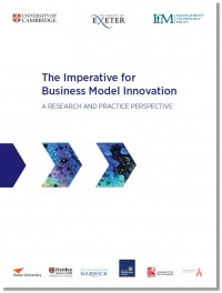The imperative for business model innovation
