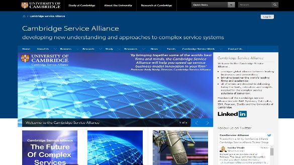 Cambridge Service Alliance Website