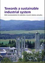 Towards a sustainable industrial system report cover