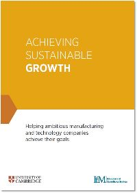Achieving Sustainable Growth