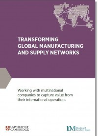 Transforming Global Manufacturing and Supply Networks Brochure