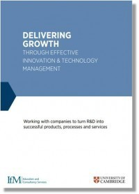 Delivering growth through effective technology and innovation management